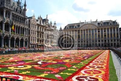 Постер Брюссель Цветочный ковер цветов в Брюссель главной площадиБрюссель<br>Постер на холсте или бумаге. Любого нужного вам размера. В раме или без. Подвес в комплекте. Трехслойная надежная упаковка. Доставим в любую точку России. Вам осталось только повесить картину на стену!<br>