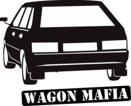 На автомобиль Наклейка «2108-2113»Мафия<br><br>