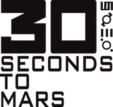 На автомобиль Наклейка «30 Seconds to Mars»Музыка<br><br>