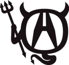 На автомобиль Наклейка «Acura Devil»Acura<br><br>