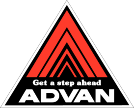 На автомобиль Наклейка «ADVAN Get a step ahead»JDM<br><br>