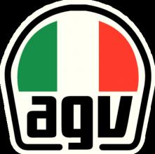На автомобиль Наклейка «AGV»Мото<br><br>