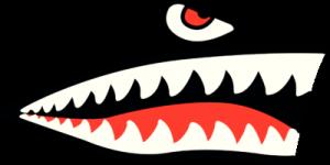 На автомобиль Наклейка «Акула на борт»Декор<br><br>