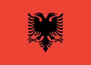 На автомобиль Наклейка «Албания»Страны и путешествия<br><br>