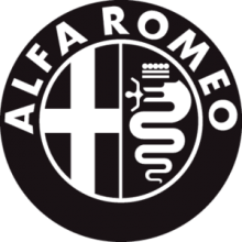 На автомобиль Наклейка «Alfa Romeo»Alfa Romeo<br><br>