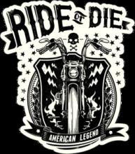 На автомобиль Наклейка «American Legend»Мото<br><br>