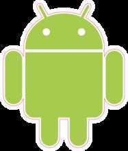 На автомобиль Наклейка «Android»Логотипы<br><br>