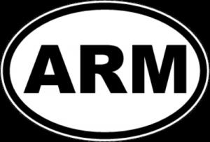 На автомобиль Наклейка «ARM - Армения»Автомобильные<br><br>