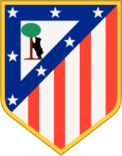 На автомобиль Наклейка «Атлетико Мадрид»Футбольные клубы<br><br>