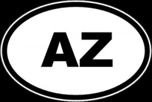 На автомобиль Наклейка «AZ - Азербайджан»Автомобильные<br><br>