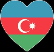 На автомобиль Наклейка «Азербайджан»Страны и путешествия<br><br>