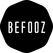 На автомобиль Наклейка «BEFOOZ Logo»Фестивали<br><br>