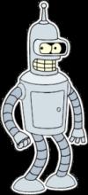 На автомобиль Наклейка «Бендер Bender»Futurama<br><br>