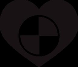 На автомобиль Наклейка «BMW Heart»BMW<br><br>
