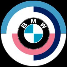 На автомобиль Наклейка «BMW Logo Vintage»BMW<br><br>