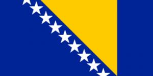 На автомобиль Наклейка «Босния и Герцеговина»Страны и путешествия<br><br>