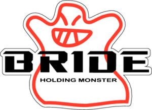 На автомобиль Наклейка «BRIDE Holding Monster»JDM<br><br>