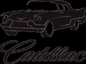 На автомобиль Наклейка «Cadillac Eldorado»Cadillac<br><br>