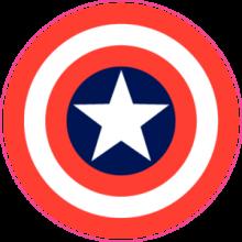 На автомобиль Наклейка «Captain America»Кино и TV<br><br>