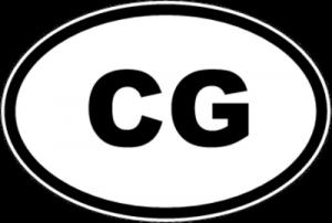 На автомобиль Наклейка «CG - Черногория»Автомобильные<br><br>