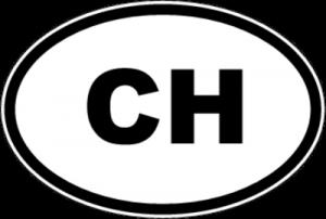 На автомобиль Наклейка «CH - Швейцария»Автомобильные<br><br>