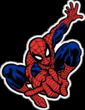 На автомобиль Наклейка «Человек-паук»Мультики<br><br>