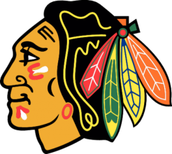 На автомобиль Наклейка «Chicago Blackhawks»Хоккейные клубы<br><br>