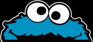 На автомобиль Наклейка «Cookie Monster Window»JDM<br><br>