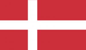 На автомобиль Наклейка «Дания»Страны и путешествия<br><br>