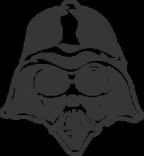 На автомобиль Наклейка «Darth Vader»Star Wars<br><br>
