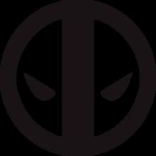 На автомобиль Наклейка «Deadpool»Кино и TV<br><br>