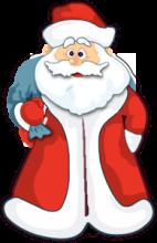 На автомобиль Наклейка «Дед мороз»Новогодние<br><br>