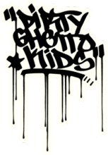 На автомобиль Наклейка «DGK Dirty Ghetto Kid»Спорт и Экстрим<br><br>