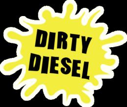 На автомобиль Наклейка «Dirty Diesel»Автомобильные<br><br>