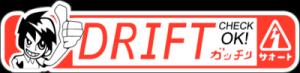 На автомобиль Наклейка «Drift Check Ok»JDM<br><br>