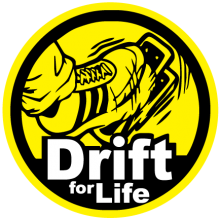 На автомобиль Наклейка «Drift for Life»Drift<br><br>