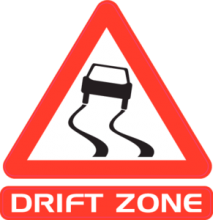 На автомобиль Наклейка «Drift Zone»Racing<br><br>