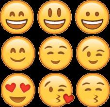 На автомобиль Наклейка «emoji»Разные<br><br>