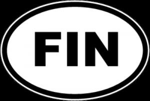 На автомобиль Наклейка «FIN - Финляндия»Автомобильные<br><br>