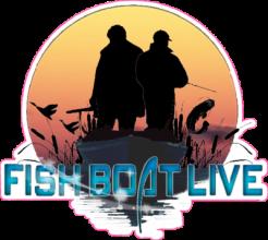 На автомобиль Наклейка «Fish Boat Live»Сообщества<br><br>