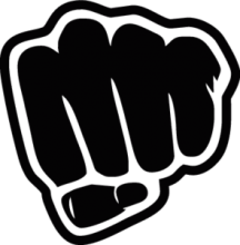 На автомобиль Наклейка «Fist»JDM<br><br>