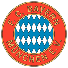 На автомобиль Наклейка «ФК Бавария Мюнхен (Старый логотип)»Футбольные клубы<br><br>