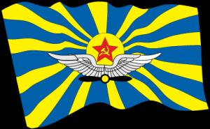 На автомобиль Наклейка «Флаг ВВС СССР»Флаги<br><br>