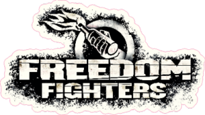 На автомобиль Наклейка «Freedom Fighters»Компьютерные игры<br><br>