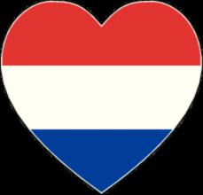 На автомобиль Наклейка «Голландия сердце»Страны и путешествия<br><br>