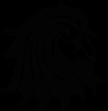 На автомобиль Наклейка «Голова льва»Животный мир<br><br>