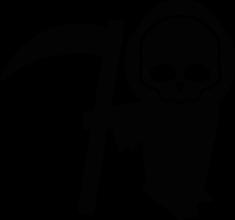 На автомобиль Наклейка «Grim Reaper»JDM<br><br>