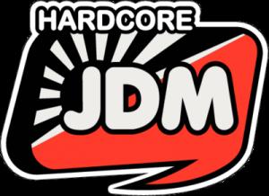 На автомобиль Наклейка «Hardcore JDM»JDM<br><br>