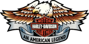 На автомобиль Наклейка «Harley Davidson Clothing»Мото<br><br>