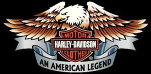 На автомобиль Наклейка «Harley Davidson Clothing»Мото<br><br>